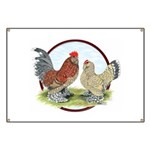 Belgian d'Uccle Bantams Banner