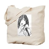 violin art tote bag