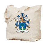 Potter Family Crest Tote Bag