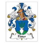 Potter Family Crest Small Poster