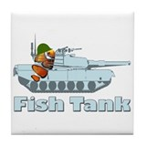 Fish Tank Tile Coaster