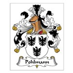 Pohlmann Family Crest Small Poster
