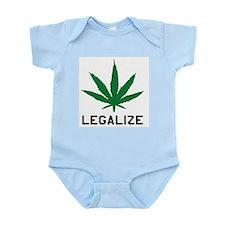 Legalize Marijuana Infant Creeper