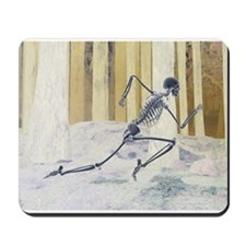 Run Skeleton Mousepad