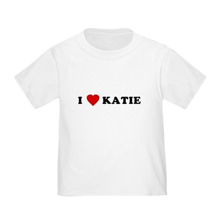 I Love [Heart] Katie Toddler T-Shirt