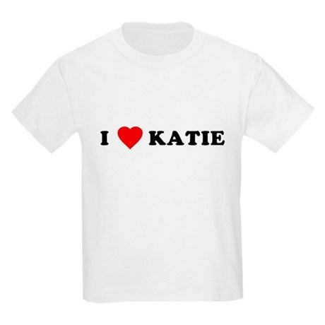 I Love [Heart] Katie Kids T-Shirt
