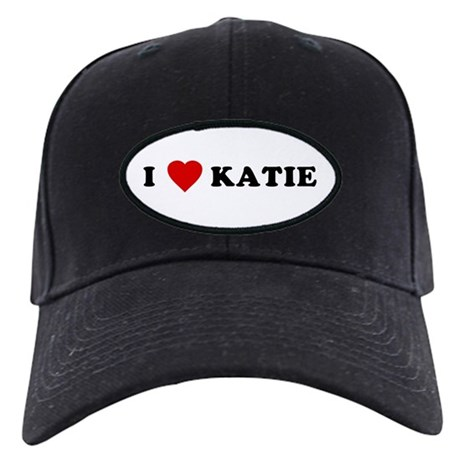 I Love [Heart] Katie Black Cap