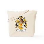 Pfann Family Crest Tote Bag