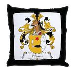 Pfann Family Crest Throw Pillow