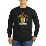 Pfann Family Crest Long Sleeve Dark T-Shirt