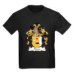 Pfann Family Crest Kids Dark T-Shirt