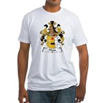 Pfann Family Crest Fitted T-Shirt