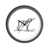 Hiking Dog Wall Clock