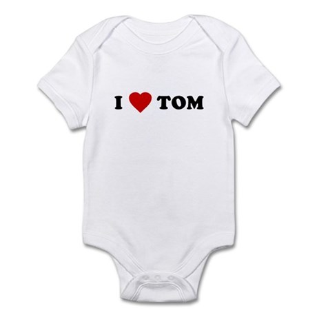 I Love [Heart] Tom Infant Creeper