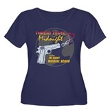 Threat Level: Midnight Women's Plus Size Scoop Nec