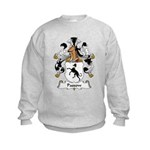 Passow Family Crest Kids Sweatshirt