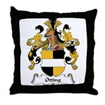 Otting Family Crest Throw Pillow