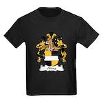Otting Family Crest Kids Dark T-Shirt