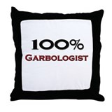 100 Percent Garbologist Throw Pillow