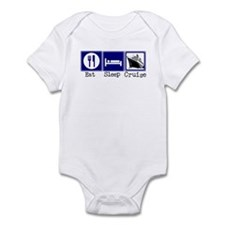 Eat, Sleep, Cruise Infant Bodysuit