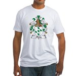 Olberg Family Crest Fitted T-Shirt