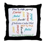 Cute Sudaderas con capucha Throw Pillow