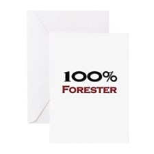 100 Percent Forester Greeting Cards (Pk of 10)