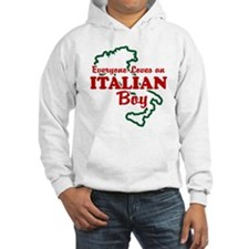 Everyone Loves an Italian Boy Hoodie