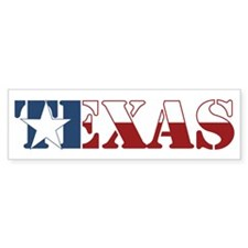 Texas Bumper Sticker (10 pk)