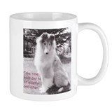 Sit quietly Collie Mug