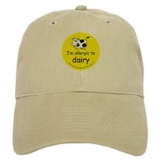 allergic to dairy Baseball Cap