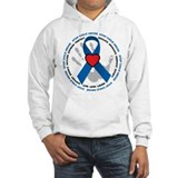 Stop Child Abuse Ribbon Hoodie