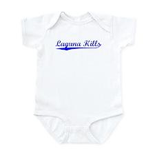 Vintage Laguna Hills (Blue) Infant Bodysuit
