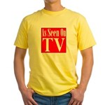 As Seen On TV Yellow T-Shirt