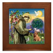 St. Francis & Norfolk Framed Tile