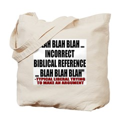 Liberal Argument Tote Bag