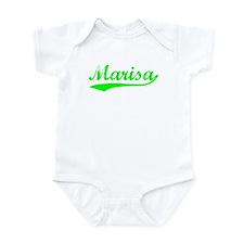 Vintage Marisa (Green) Infant Bodysuit