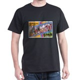 Kalamazoo Michigan Greetings (Front) T-Shirt