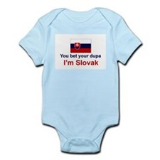 Slovak Dupa Infant Bodysuit