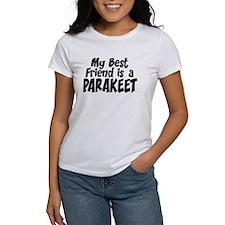 Parakeet BEST FRIEND Tee