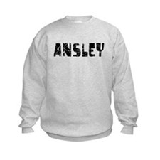 Ansley Faded (Black) Sweatshirt