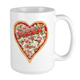 Pizza Heart Mug
