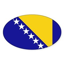 Bosnia Herzegovina stickers Oval Sticker (10 pk)
