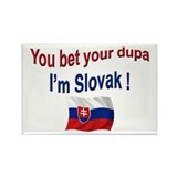 Slovak Dupa 3 Rectangle Magnet (10 pack)