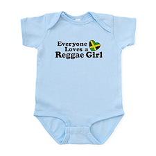 Everyone Loves a Reggae Girl Infant Bodysuit