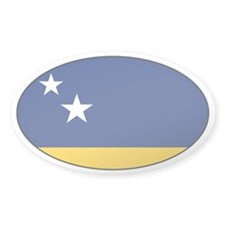 Curacao stickers Oval Decal