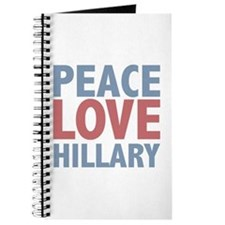 Peace Love Hillary Clinton Journal