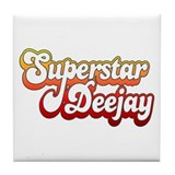 SuperStar DeeJay Tile Coaster