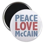 Peace Love John McCain 2.25