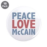 Peace Love John McCain 3.5